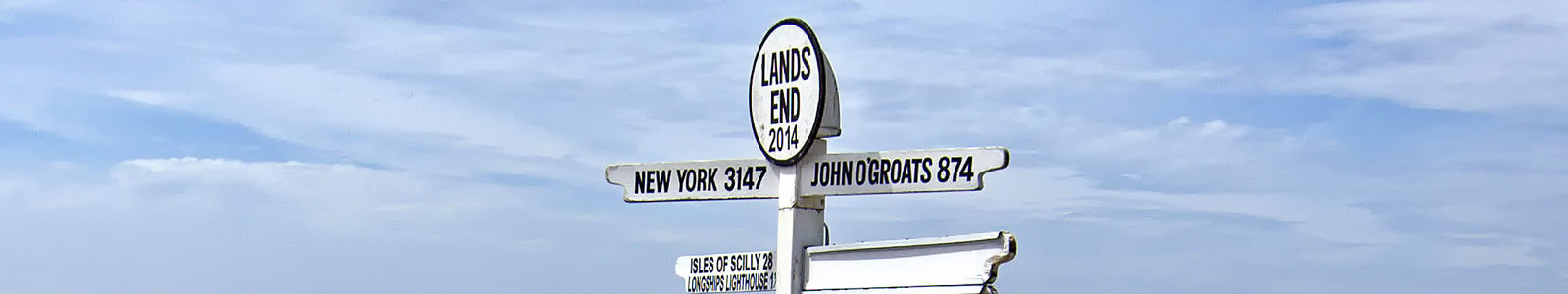 Things to do in Cornwall:  Visit Lands End